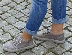 Natural-World-Schuhe-Grau-6302E-670-enz-Damen-Baumwolle-Waschbar-Wechselfussbett