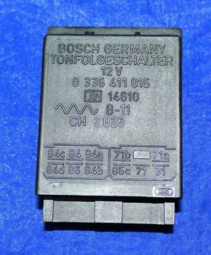 Tonfolgeschalter Steuergerät Bosch 0335411015 BMW Mercedes Opel Porsche Audi VW