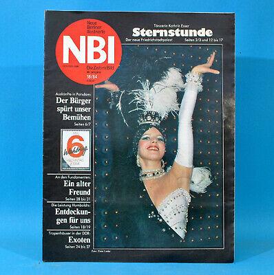 Ddr Nbi 18 1984 Friedrichstadtpalast Naumburg Wölferbütt Bansin Ringen Gall W Freigabepreis