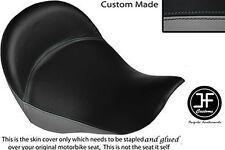 GREY & BLACK VINYL CUSTOM FITS BMW K 1200 LT 04-07 FRONT SEAT COVER ONLY