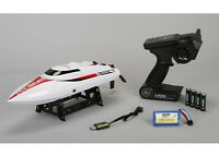 Proboat Prb08024 Rtr React 17 Deep-v Self-righting Brushed Boat W Radio Battery on Sale