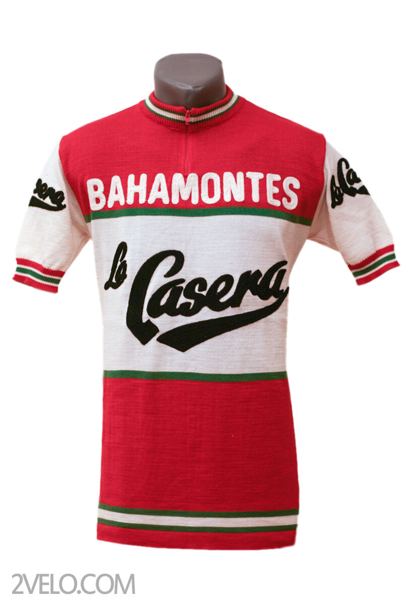 LA CASERA Bahamontes vintage wool jersey, new, never worn S