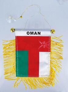 MINI-DRAPEAU-FANION-DRAPEAU-OMAN-FLAG-VOITURE