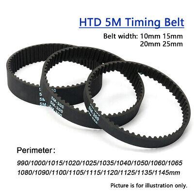 1050-5M-25 25mm Wide HTD 5M 5mm Pitch Timing Belt CNC ROBOTICS