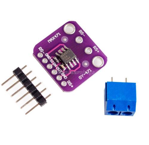 GY-471 3 A range Current Capteur Module professionnel MAX471 Module pour Arduino