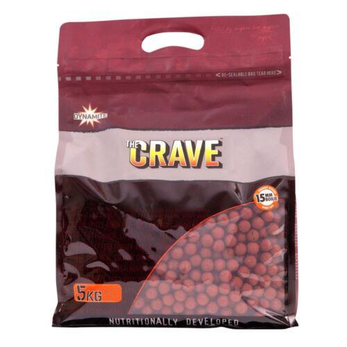Dynamite Crave Shelf Life Boilie 5kg Baits ALL SIZES