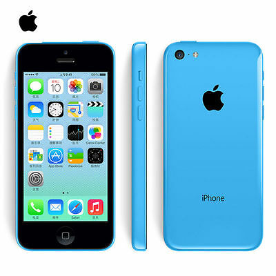 32GB Unlocked Apple iPhone 5c  Smartphone White Blue Green Yellow Pink AAA+++