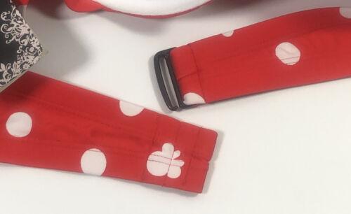Disney Minnie Mouse Polka Dot Print Bikini Swim Suit Top Hot Topic Jr Plus Size