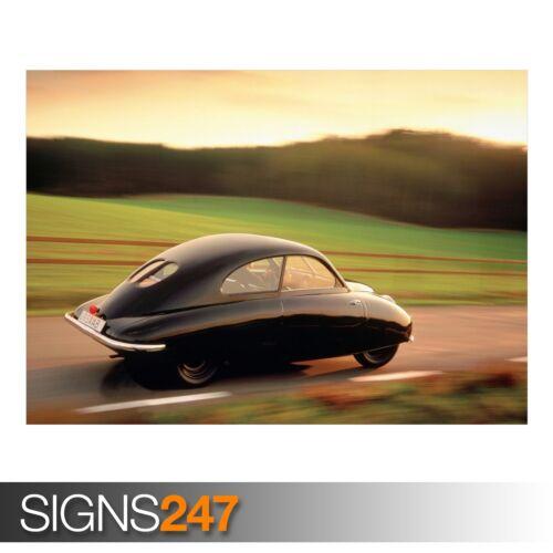 AA978 CLASSIC CAR POSTER 1947 SAAB URSAAB Photo Poster Print Art * All Sizes