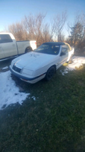 1992 convertible lebaron must sell