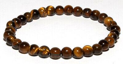 Bracelet pierres naturelles en perles d/'oeil de tigre de 6 mm-brac102