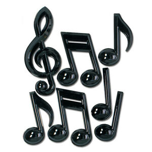 Black-Musical-Notes-Hanging-Decorations-for-music-classroom-plastic-2-Packs