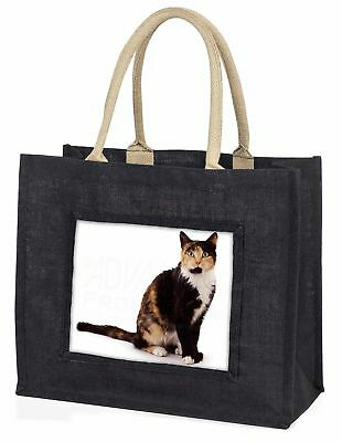 Schildkrötenpanzer Katze große schwarze Einkaufstasche Weihnachten Geschenkidee,