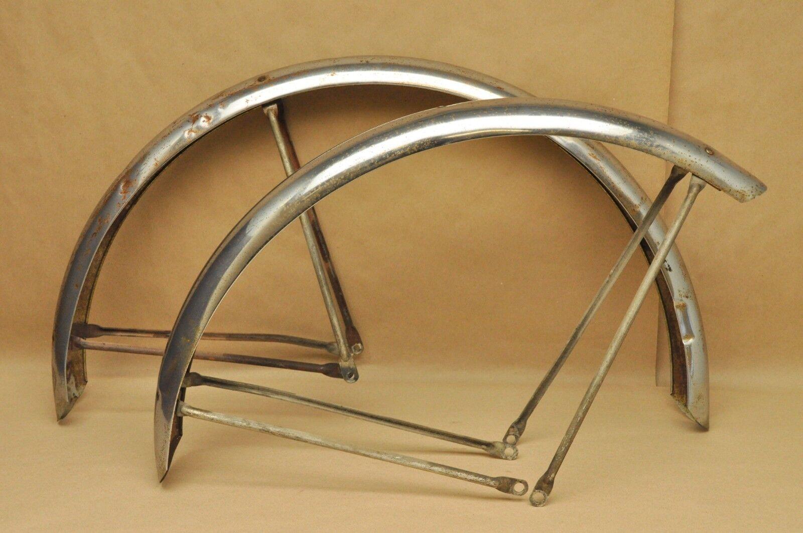 Vintage 1967 Schwinn Typhoon Bicycle Fenders Front & Rear