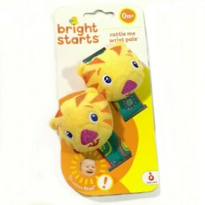 Bright Starts Infant Baby Busy Hands Finder Wrist Rattles ...