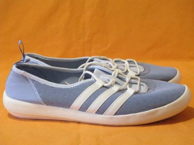 big sale 09cb3 04561 adidas Terrex Climacool Boat Sleek Women's Size 10 Blue/white/pink Walking  Shoes