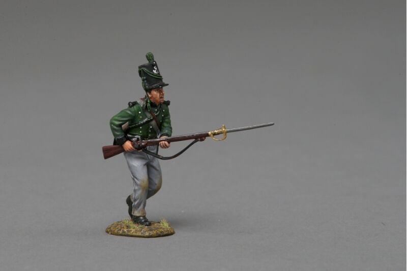 THOMAS GUNN NAP041B - KGL Charge 1 (Mud) - Napoleonic
