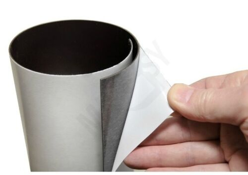 MAGNETIC RUBBER  FLEXIBLE SELF ADHESIVE ROLL SHEET FILM  SIGN BOARD FRIDGE SIGN