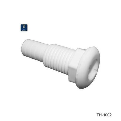 1 inch Straight Thru-Hull Fittings