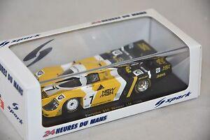 Spark 43lm85 - Porsche 956 N ° 7 Vainqueur Le Mans 1985 Ludwig Barilla 1/43