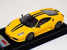 1/18 Looksmart Ferrari F430 Scuderia Giallo Modena Black / Titanium Alcantara