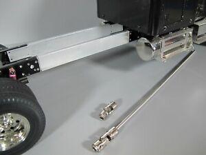Aluminum 3 inch Frame Extension /& Drive Shaft Set Tamiya RC 1//14 King Hauler