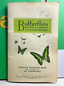 Butterflies-British & Foreign-1932-Player's Transfer Book-John Player & Sons