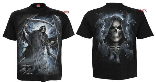 Spiral Direct NEW DESIGNS Skull//Dragon//Reaper//Rock//Metal//Halloween//T shirt//Top