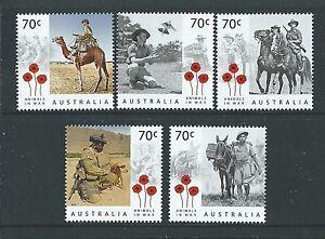 Australien-2015-Tieren-Im-Krieg-ein-Jahrhundert-von-Service-Nicht-Gefasst-Mint