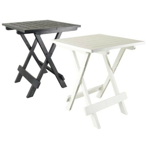 TABLE APPOINT PLIANTE 50 X 45 X 43 CAMPING PORTABLE PORTABLE PORTABLE JARDIN EXTERIEUR PLIABLE 653 a3cfb5