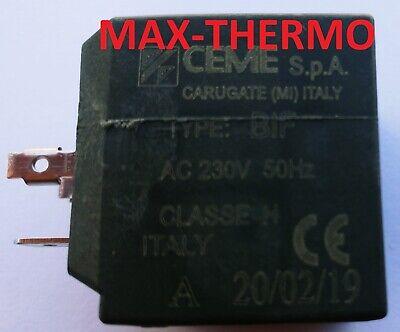 CEME 6660 CEME 688 Electroválvula Válvula G1//4 Para Dampferzeuger 230V//50Hz