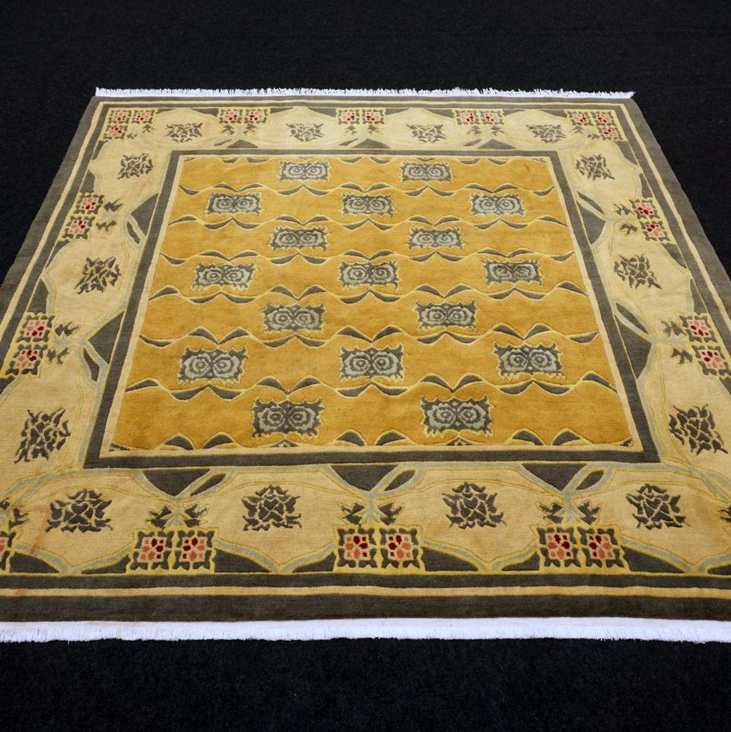 Orient Teppich Nepal Nepal Nepal 206 x 204 cm Modern Handgeknüpft Carpet Rug Tappeto Tapijt 8f8821