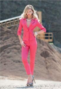 Caviglia Edas Forti Cerimonia Elegante Dritto Pantalone Taglie Donna Pants Slim fX7Xqwr
