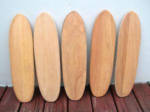 Image Is Loading Vintage Hobie Super Surfer Wooden Sidewalk Skateboard Surfboard