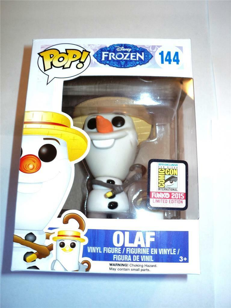 FUNKO POP  VINYL 2015 SDCC CONVENTION EXCLUSIVE OLAF FIGURE MISB