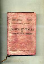 Bertarelli # GUIDA D'ITALIA DEL TOURING CLUB - ITALIA CENTRALE# VOL. IV # 1925