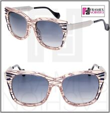964f1d3075c6 FENDI Thierry Lasry Kinky FF0180S Palladium Pink Square Metal Sunglasses  0180