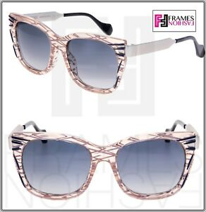 2f791a633c32 Image is loading FENDI-Thierry-Lasry-Kinky-FF0180S-Palladium-Pink-Square-