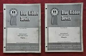 """1961 INTERNATIONAL HARVESTER CUB CADET TRACTOR """"ENGINE & CHASSIS"""" SERVICE MANUAL"""