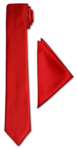 CRIXUS schmale Krawatte Dunkel Rot Edel Satin Tuch 26x26 cm Anzug Smoking