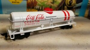 Athearn-HO-Coca-cola-single-dome-tank-car-nos-cccx1126-for-train-set