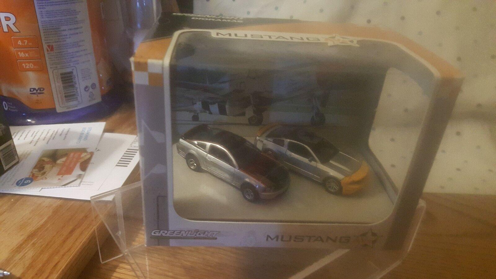 verdelight Diorama Serie 4 Edición Limitada Escala 1 64 Mustang AVS