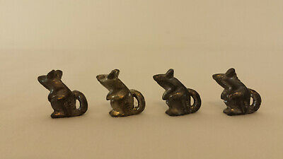 Metzke Cat /& Mouse Tic Tac Toe Cat Token Replacement Game Piece Part 1978 Pewter