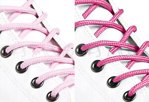 ROUND-PINK-SHOE-LACES-LONG-SHOELACES-3mm-wide-11-LENGTHS-2-SHADES