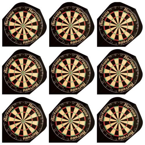 Dartboard 9  Dart Flights Harrows Quadro Dartflights Dart flights