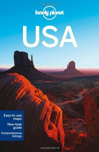1 of 1 - Lonely Planet USA (Travel Guide) By Lonely Planet,St Louis,Campbell,Krause,Matc