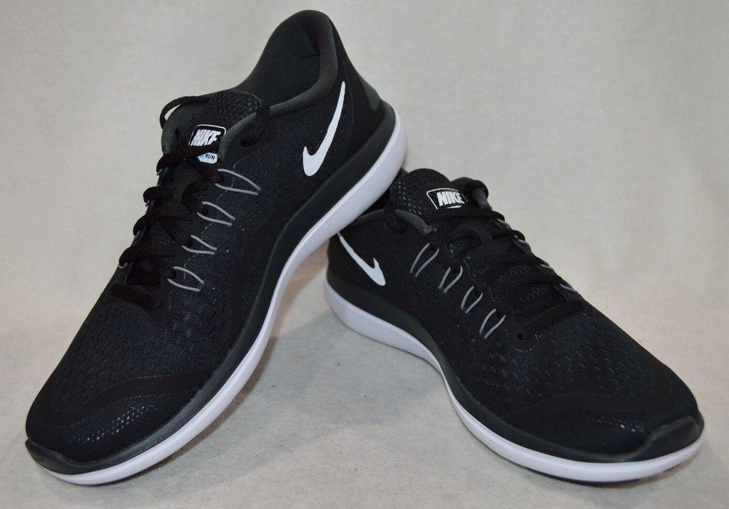 Nike maschile nero / bianco bianco bianco / flex 2017 rn antracite scarpe da corsa varie taglie nwb 6c3e99