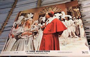 Three-Musketeers-1974-Lobby-Cards-7-RIchard-Lester-VG-EX-LOT-Faye-Dunaway-York
