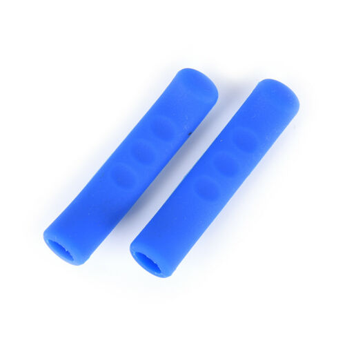1 Pair Mountain Bike DH BMX Brake Lever Grips Rubber Protector Cover PM
