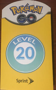 Pokémon Go Sprint Trainer Badge Level 10 LIMITED EDITION Patch Promo